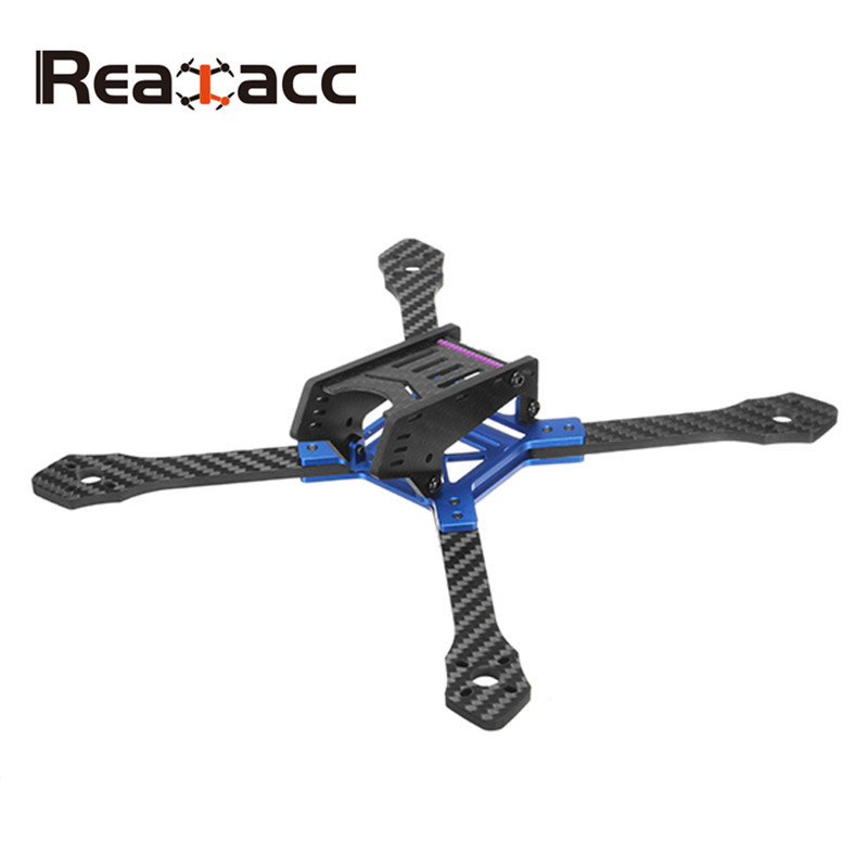 New Realacc DKB220 220mm 5 Inch 4mm Arm Thickness Carbon Fiber Frame Kit For FPV Racing Drone DIY RC Multirotor Quadcopter Parts diy fpv mini drone qav210 zmr210 race quadcopter full carbon frame kit naze32 emax 2204ii kv2300 motor bl12a esc run with 4s