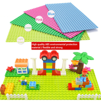 Minecrafted General Blocks Base Plate 32 16 Dots Toy Base Compatible Legos Duplo City Baseplate Building