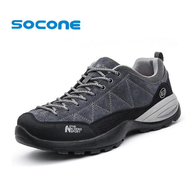 2d620446804c Waterproof Suede Hiking Shoes for Man New 2015 Winter Mens Outdoor Shoes  Trekking Leather Mens Shoes Walking zapatos hombre