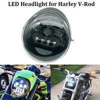 Harley VRod led Daymaker headlight DOT E9 Motorcycle headlamp for VRod V Rod VRSCF VRSC VRSCR 2002 2017