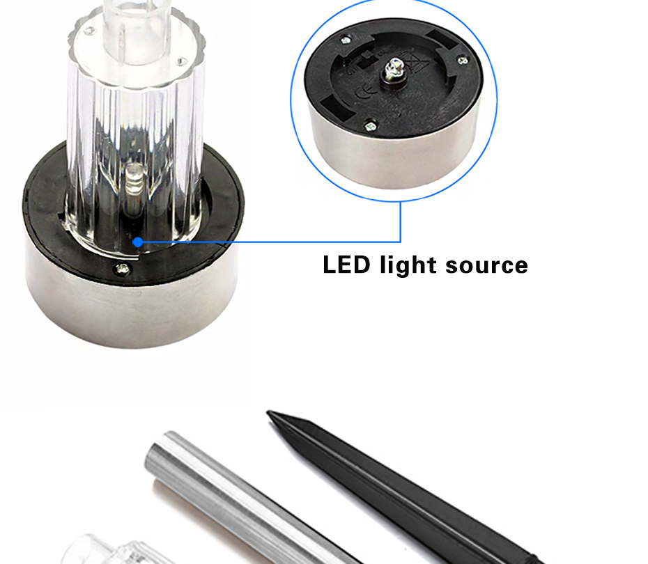 livre lâmpada do gramado sistema de energia