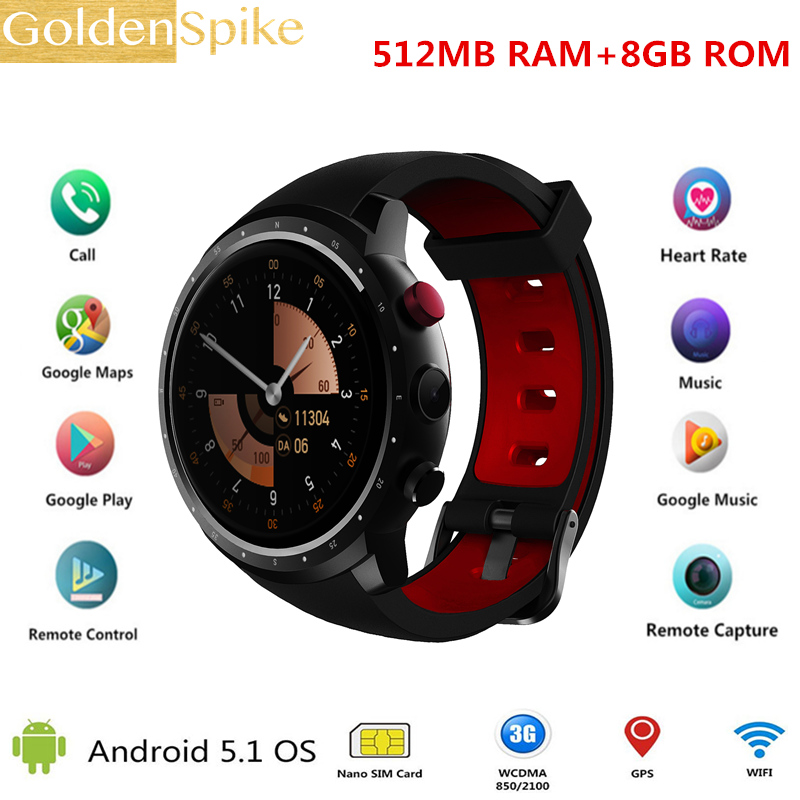 Z18 GPS Watch PK KW99 Android 5.1 Smart Watch Men 3G MTK6580 8GB Bluetooth SIM WIFI Phone Heart Rate Monitor Wearable Devices цена