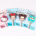 Cute Cartoon de alta calidad Mickey Hello Kitty llavero de silicona buho llavero de mujer llavero de regalo Porte Clef