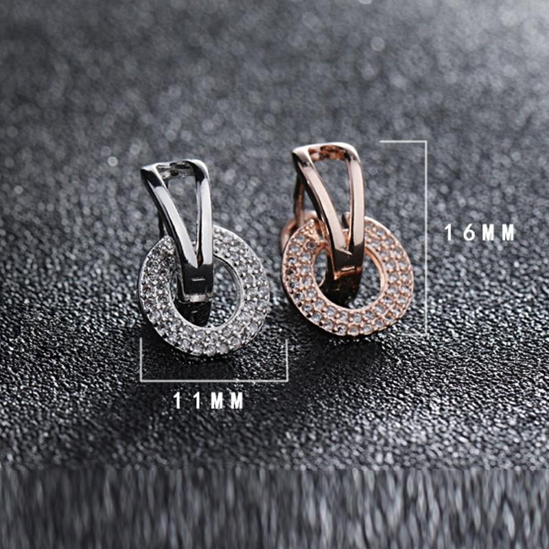 925 Sterling silver stud earrings wedding (7)
