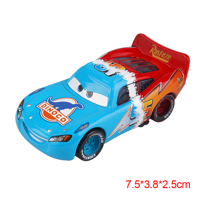 Дисней Pixar Тачки 2 3 Молния Маккуин матер Джексон шторм Рамирез 1:55 литье под давлением автомобиль металлический сплав мальчик малыш игрушки Рождественский подарок - Цвет: change McQueen