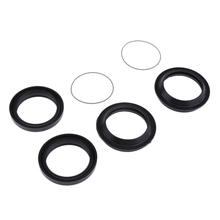 1 Set 41x53x8mm 2 Pcs Rubber Front Fork Oil Seal & Dust Fit Yamaha XJR400 Prevent Spills Motorcycle Accessories