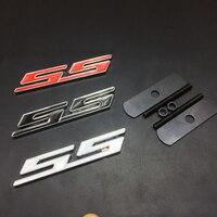 3D Metal SS Front Hood Grille Emblem Back Sticker Car Decal Badge For Chevrolet Cruze Aveo