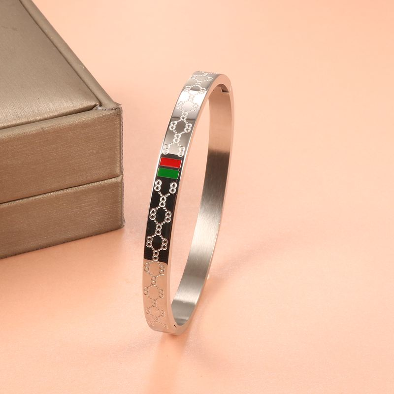 New Fashion Love Bangles Bracelets Female Gold Plating Wholesale Famous Brand Stainless Steel Bangles For Women Jewelry