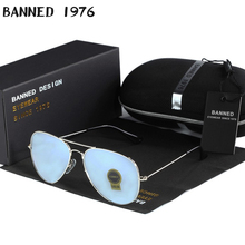 high quality BANNED G15 mirror glass lens design women men a
