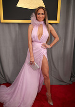Lopez Dresses Red Carpet