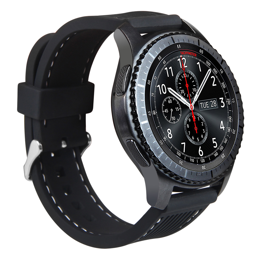 New Durable Soft Silicon Sports Bands For Gear S3 Replacement Watch Strap For Gear S3 Classic