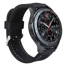 Nouveau Durable Silicone Souple Bandes De Sport Pour Vitesse S3 Remplacement De Bracelet De Montre Pour Les Engins S3 Classique frontière Smart Watch