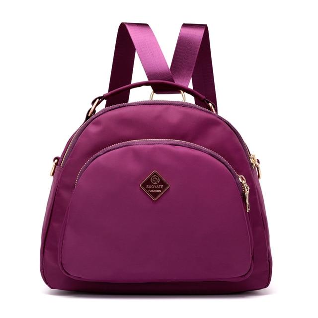 Women 2018 Cute Small Backpack Lightweight Waterproof Fabric