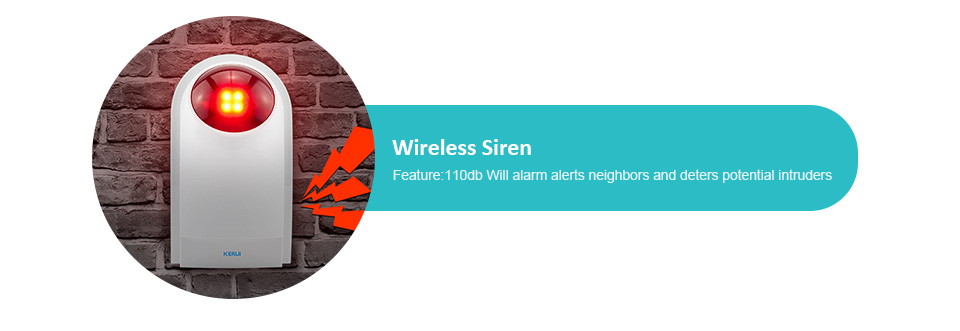 KERUI G18 Wireless Home GSM Security Alarm System DIY Kit APP Control With Auto Dial Motion Detector Sensor Burglar Alarm System 22