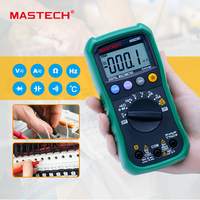 MASTECH BRAND MS8239 Handheld Auto Range Digital Multimeter AC DC Voltage Current Capacitance Frequency Temperature Tester