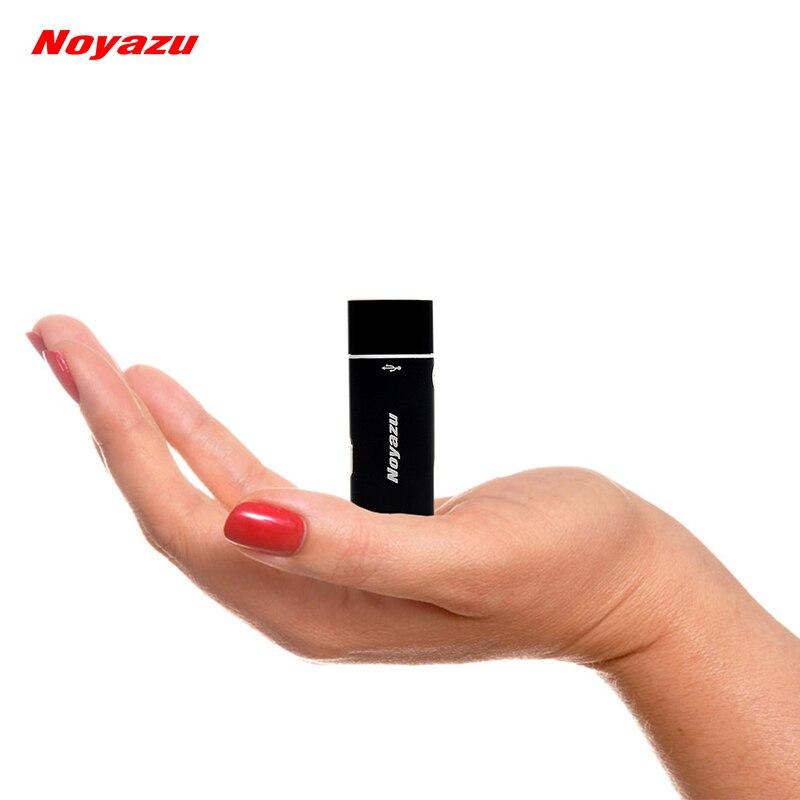 NOYAZU V17 Plus Petit Professionnel 8 GB Mini Enregistreur Vocal Lecteur MP3 Dictaphone USB Numérique Audio Voix Activé Enregistreur VOR
