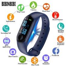 2019 digital Watch Men Women smart wrist watches Blood Press