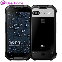 AGM X2 IP68 Waterproof Mobile Phone Dual 12MP Rear Cameras+16MP Front Snapdragon 653 6G+64GB 6000mAh 5.5 FHD 4G Lte Dustproof