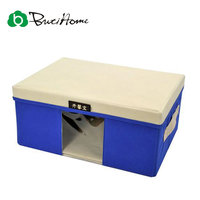 Butihome Covered With Visual Sweater Organizer Storage Box Nonwovens Feature Book Storage Box Eco Friendly Easy