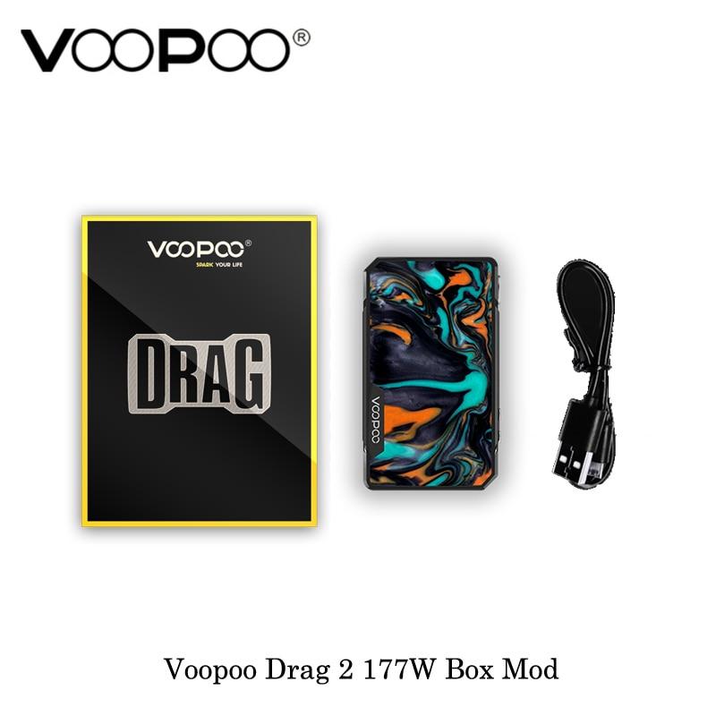 Cigarette électronique Voopoo Glisser 2 177 w TC Boîte Mod GÈNE. FIT Puce Alimenté Par Double 18650 Batterie Vaporisateur Vaporisateur Kit VS VOOPOO 157 w - 6