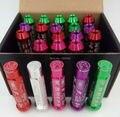 Longitud 90 MM K Rompe Estilo M12x1.25 Wheel Lug Nut Con Tapones Corona 20 Unidades (7 Colores Disponibles)
