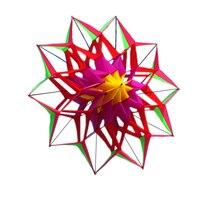 New-Alta qualidade 3D Pipa Com Alça E Linha de Flor de Lótus Bom Voar Factory Outlet