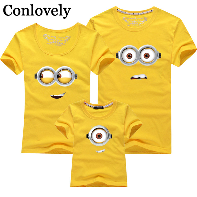 2d6ea8e6a6 Family Matching Clothes 1piece Summer T shirt Dad Mom Daughter Son Clothing  Mother Kids Baby Boys Girls Father Outfits Holiday