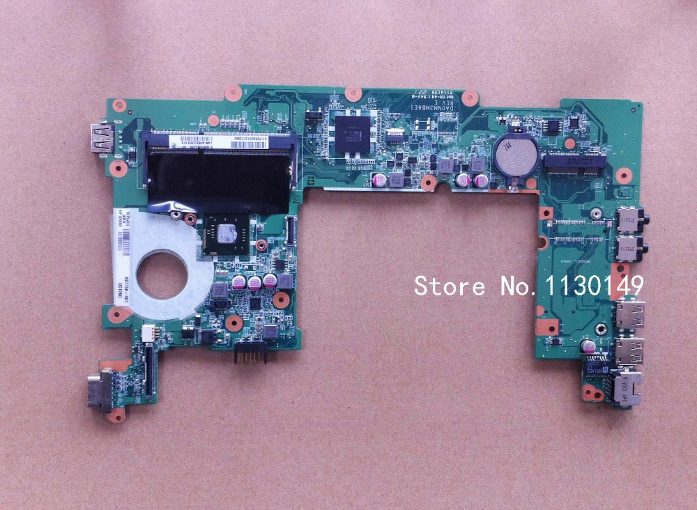ФОТО 667750-001 Free shipping for hp MINI210-4000 MINI210 667753-001 laptop Motherboard integrated graphics card 100% fully tested