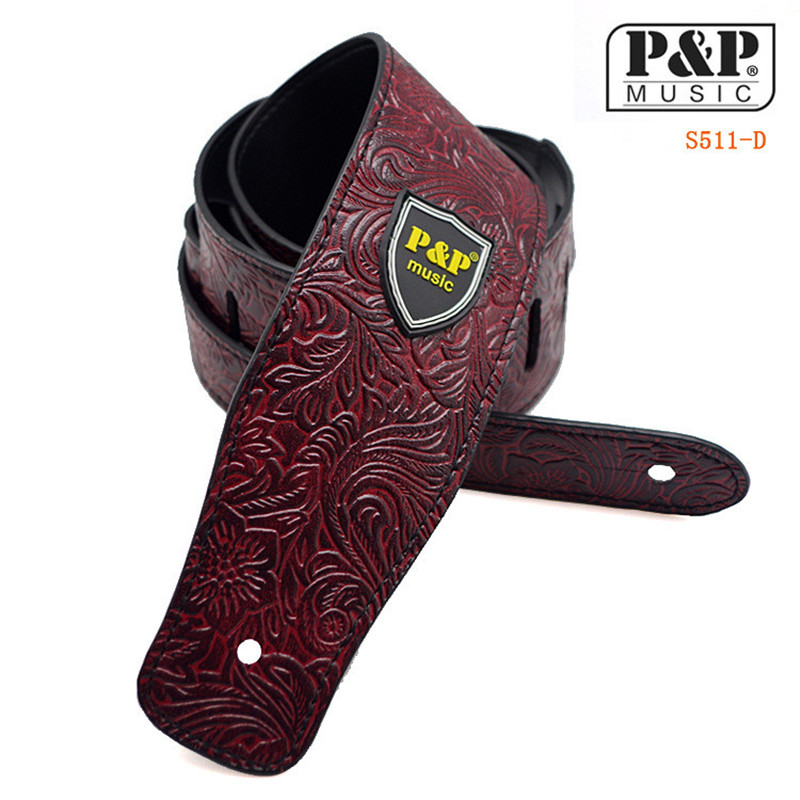 Guitar Strap for Acoustic Electric Guitar and Bass Multi-Color Guitar Belt Accessories Adjustable Musical Instruments zebra cool skull electric guitar belt polyester acoustic folk guitar classic guitar strap for electric acoustic guitar bass
