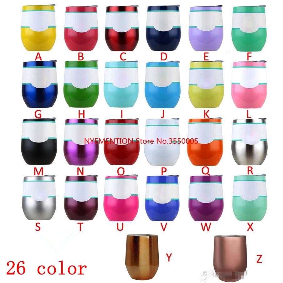 100pcs 9 oz Wine Cups thermos Mug Stainless steel Kids thermos Tumbler Insulated mug Vacuum flasks Cup Swig Travel Coffee Mug