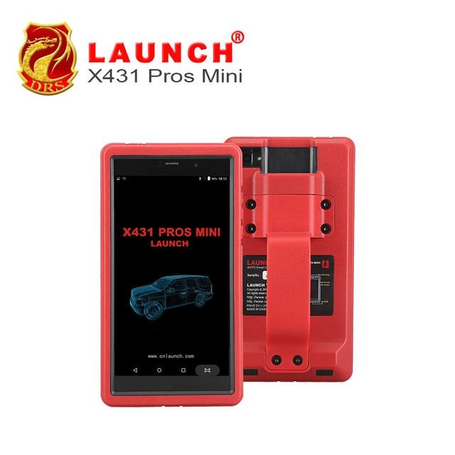 Launch X431 Pros Mini OBD2 Automotive Diagnostic Scan Tool Wifi/Bluetooth Car Scanner ECU Coding 2 Year Free Update Online launch x431 obd2 automotive diagnostic scanner obd2 bluetooth adpater mdiag elm327 update online enhanced code reader