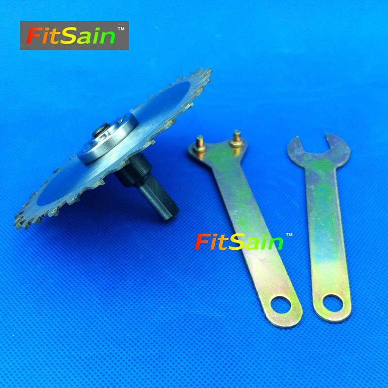 FitSain - Disco da taglio per taglierina circolare per legno da 4 - Lama per sega - Fotografia 2