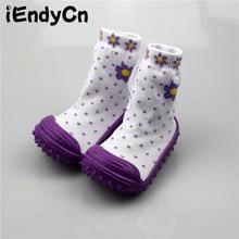Newborn Toddler Girl Infant Shoes Socks Soft Bottom Non-Slip Floor Rubber Soles Kids Boots Baby Children 0-2 y HJS7041