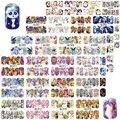 48 unids/set Animal Lindo Abrigo Lleno de Uñas Calcomanías de Transferencia de Agua Nail Art Sticker DIY Decoraciones Consejos Slider A1273-1320
