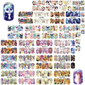 48pcs/set Cute Animal Full Wrap Nails Decals  Water Transfer Nail Art Sticker DIY Decorations Tips Slider A1273-1320