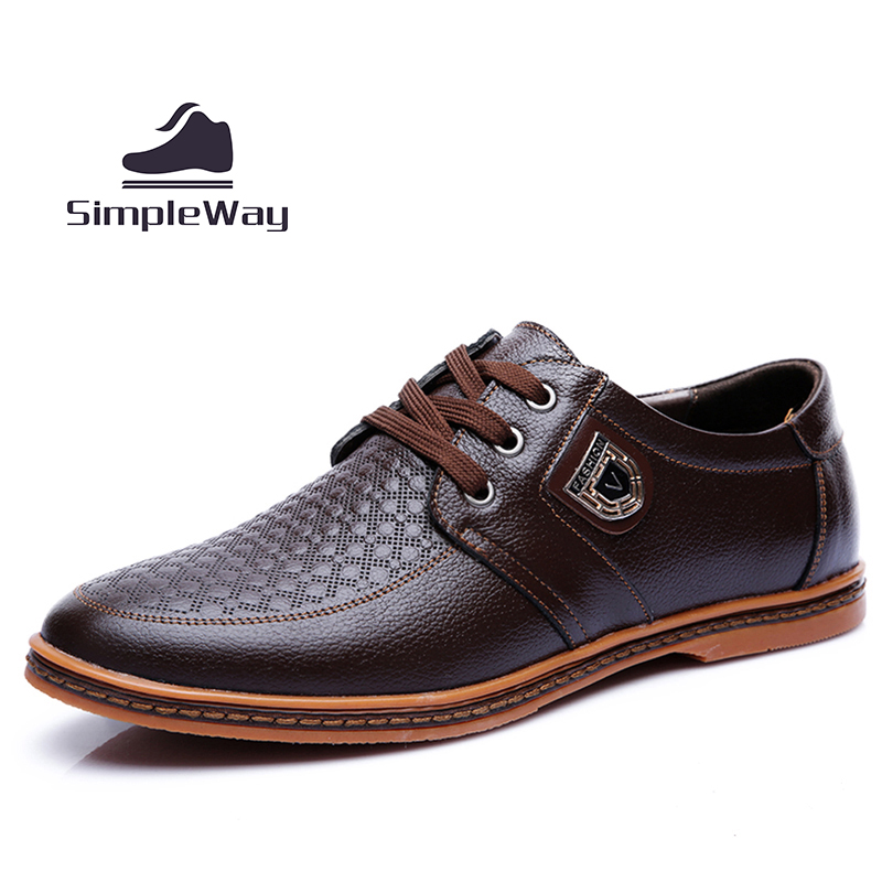 Men shoes casual luxury brand genuine leather large size 29 cm 45 46 47 48 brogues