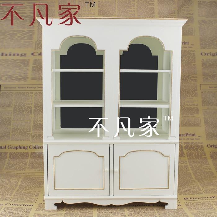BJD 1:6 miniature furniture high-quality white elegant cabinets fine bjd 1 6 doll miniature furniture seat sofa high quality classical