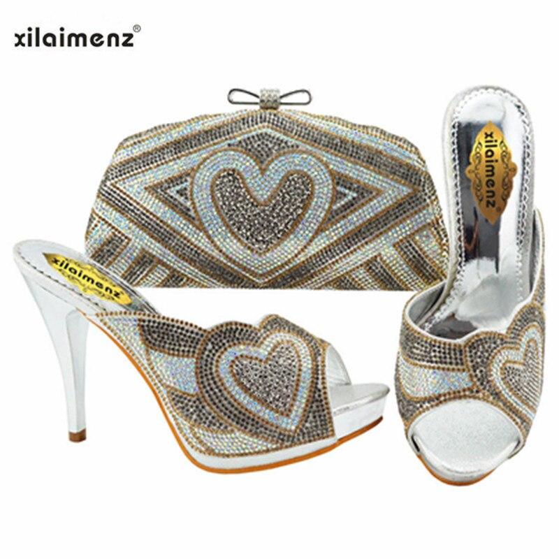 gold Avec purple Toe sky Assorties Mode Chaussures blue Argent sliver Le Italiennes En Automne Femmes Royal Sac Cristal Couleur Peep fuchsia blue Pour Mariage Joli 7qBqx1nA