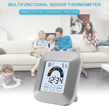 New Weather Station indoor Thermometer Hygrometer Digital LCD C/F Temp