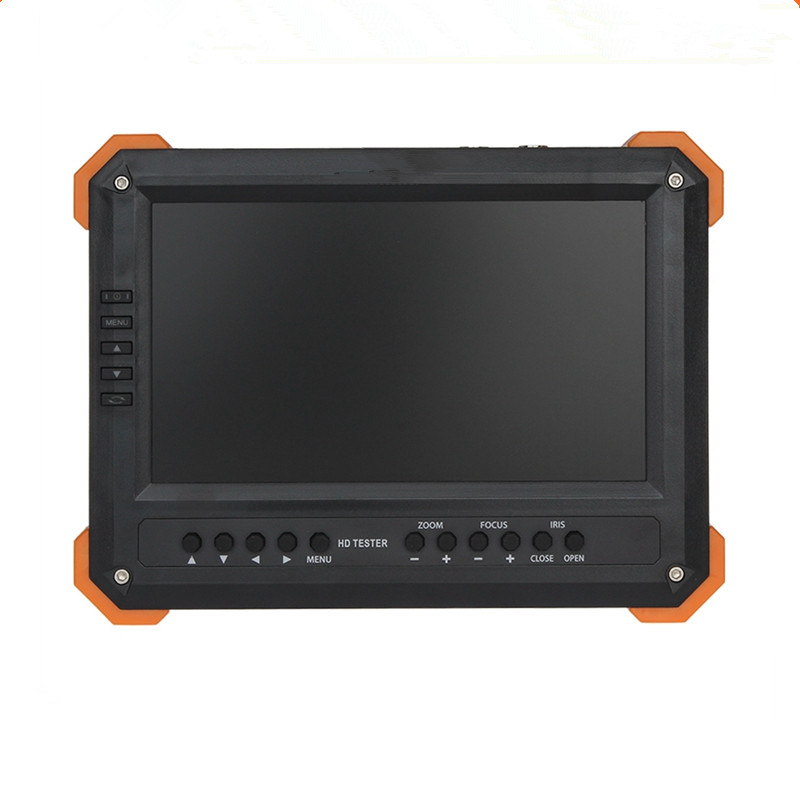 New 7 Inch HD CCTV Tester Monitor Analog HD TVI AHD CVI 4MP 1080P Camera Tester VGA HDMI Input 12V2A Ouput