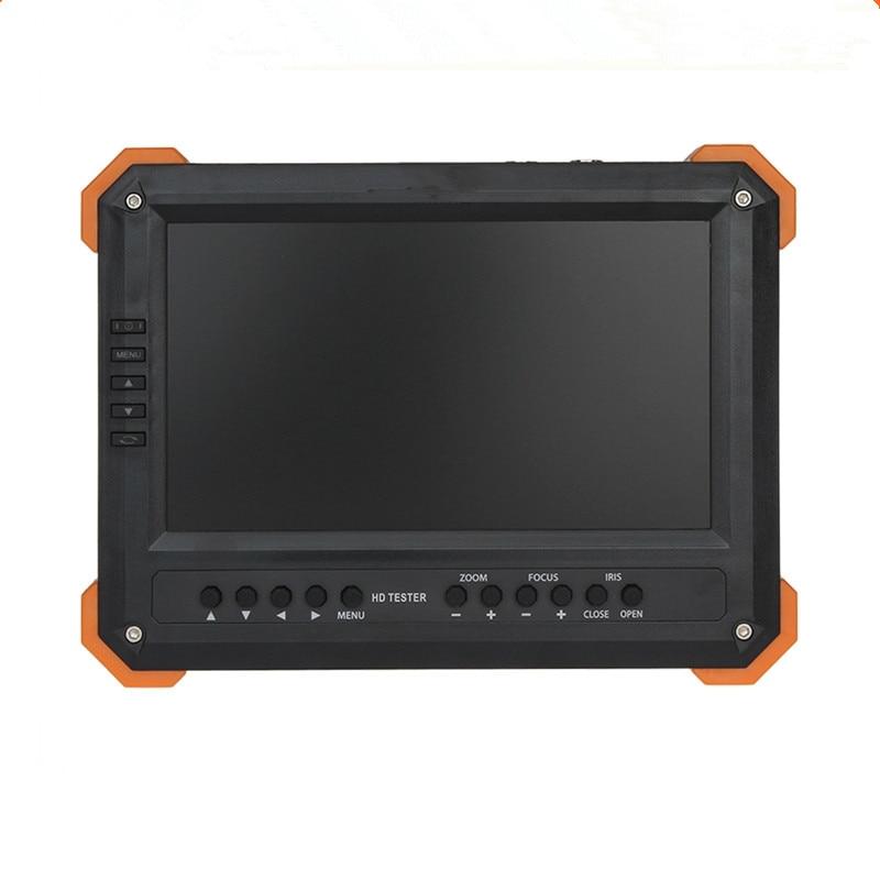 Nouveau 7 Pouce HD CCTV Testeur Moniteur Analogique HD TVI AHD CVI 4MP 1080 P Caméra Testeur VGA HDMI Entrée 12V2A Ouput