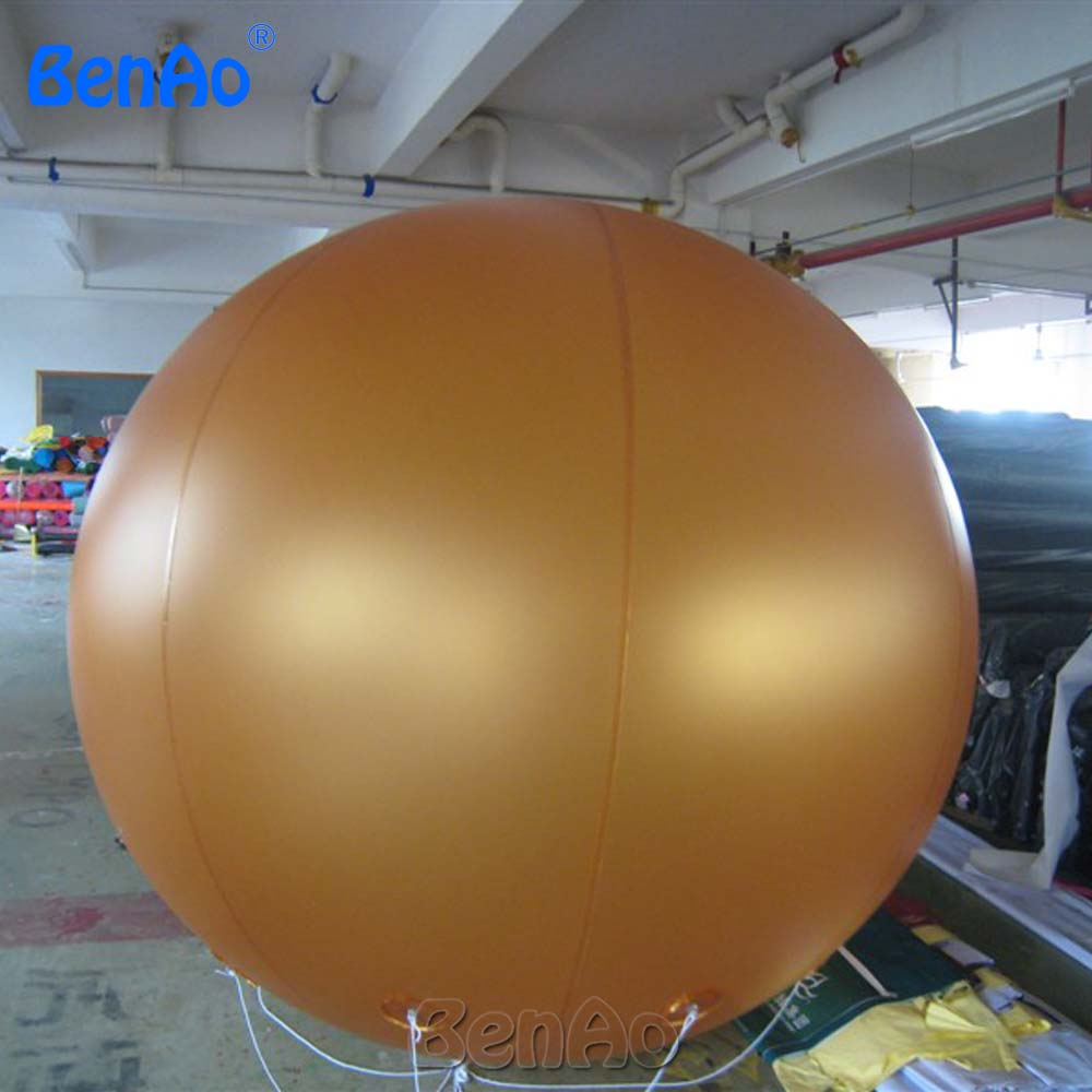 AO058H 2M  Helium Balloon Ball PVC  helium balioon / inflatable sphere/sky balloon for sale inflatable helium balloon