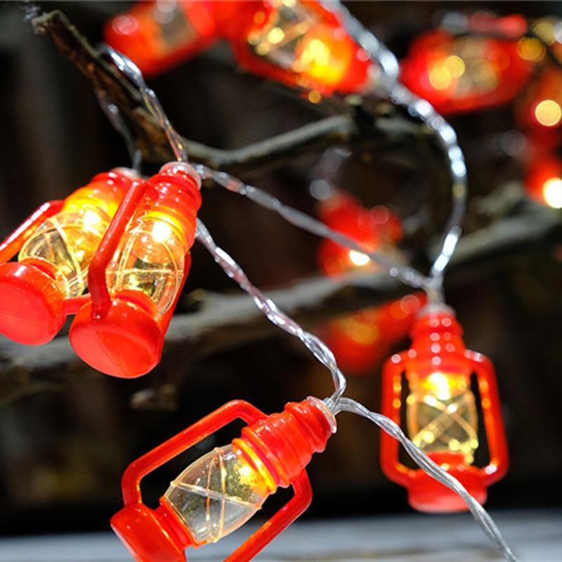Chinese Mini Small Lantern String Light Glow Party ...