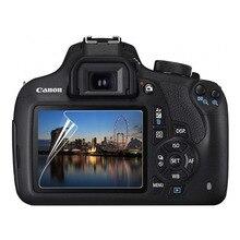 3 x ПЭТ Защитная Прозрачная мягкая пленка для Canon EOS 1200D 1300D 1500D 2000D Rebel T5 T6 T7 Kiss X70 X80 X90 Защита камеры