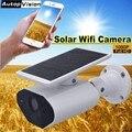 2.0MP камера безопасности на солнечных батареях Wifi ip-камера Водонепроницаемая беспроводная PIR камера для обнаружения движения CCTV Bullet камера L4