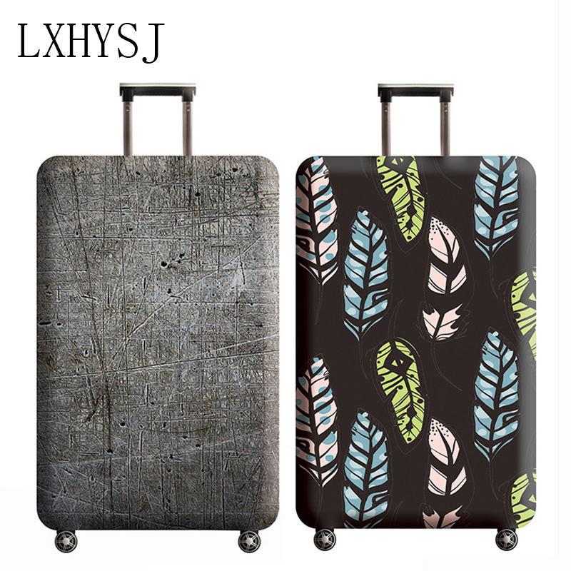 Travel Luggages Protective Cover Elasticity Trolley Case Dust Cover Suitable For 18-32 Inches Trolley Suitcase Dust Cover
