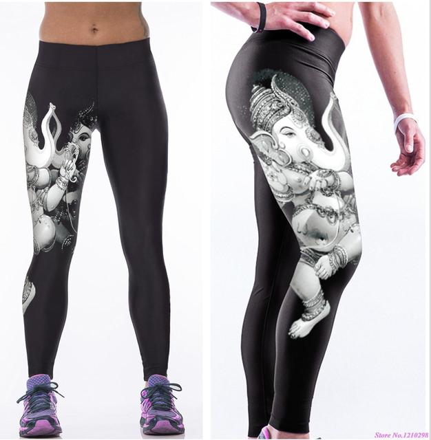 51a36c59650a1 The Elephant Man Women Sports Yoga Pants Gear Exercise Tights Female  Fitness Running Trousers Gym Yoga Slim Leggings Elastic