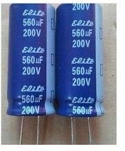 Высокое качество electrol конденсатор 200 В 560 мкФ 18*40 мм для ЖК-дисплей источника питания доска
