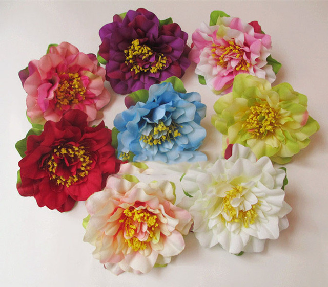 Artificial flowers head wild orchid simulation silk flower corsage artificial flowers head wild orchid simulation silk flower corsage flower head diy flower head 7cm mightylinksfo Choice Image