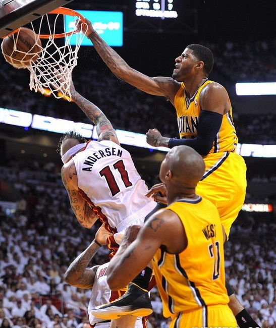 033 Paul George - NBA Indiana Pacers Basketball Stars 14x17 Poster